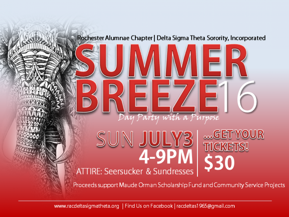 Summer 2016 Breeze: Day Party with a Purpose