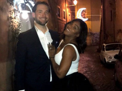 Serena Williams shows off engagement ring on Reddit, naturally