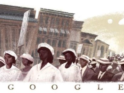 What Is The Silent Parade Of 1917 Google Doodle | Refinery29