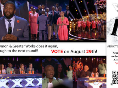 Time To Cast Our Votes For DaNell Daymon and Greater Works – AGT